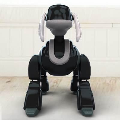 The 3D model of a Toy robot Aibo