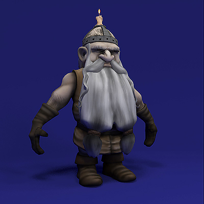 3D model of a Dwarf