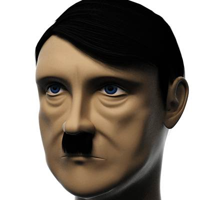 model: 3D Adolf Hitler German dictator
