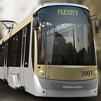 3D model: Contemporary Brussels tram