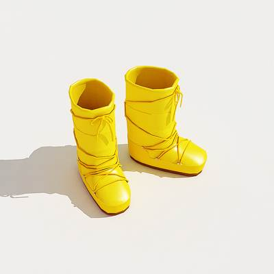 3D model of the Shoes collection megapack