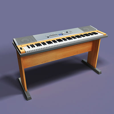 3D model of a Digital synthesizer<br />