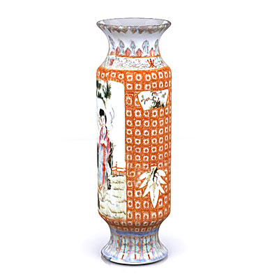 3D model of a Chinese vase