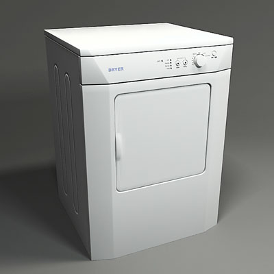 3D model of a Dryer