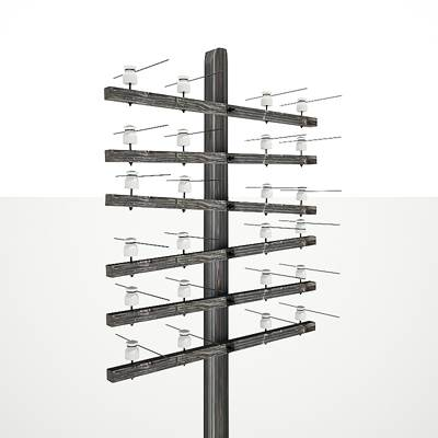 model: 3D overhead power line