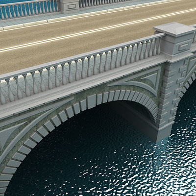 3D model of Bridge collection