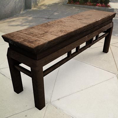 3D model of a Classic Chinese bench