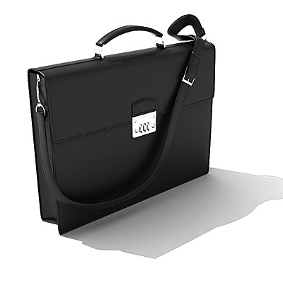 3D model of a Briefcase