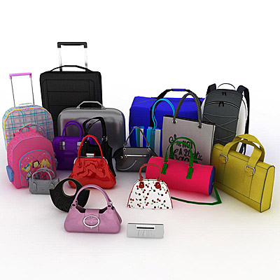 3D model of the Bags collection
