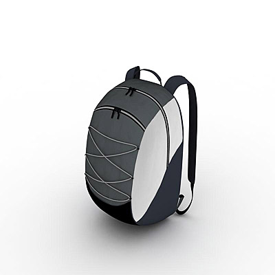 3D model of a Backpack