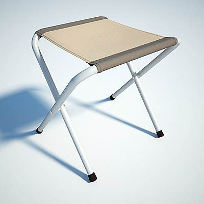model: Simple 3D folding chair