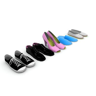 model: A very nice 3D set of shoes<br />