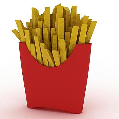 3D model of Fries
