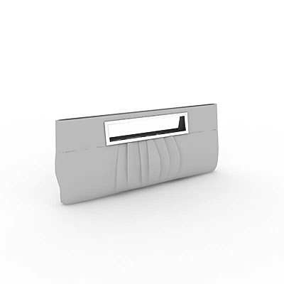 3D model of a Grey clutch