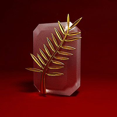 3D model of the Cannes film festival award