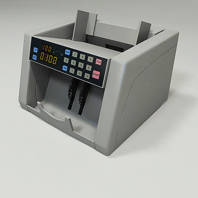 3D model of a Money counter