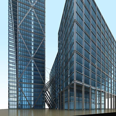 3D model of the Broadgate tower
