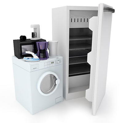 3D model of Home appliances collection