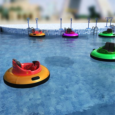 3D model of a Bumper boat collection