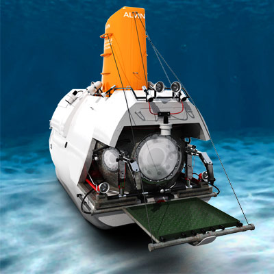 3D model of the bathyscaphe Alvin