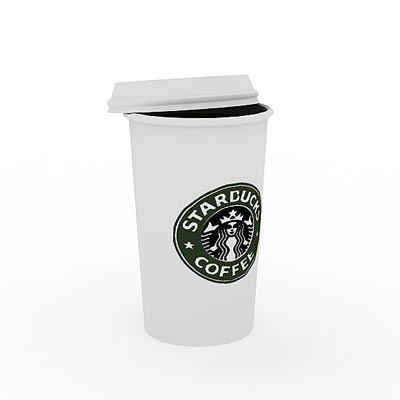 3D model of Coffee pack