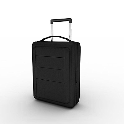 3D model of a Suitcase