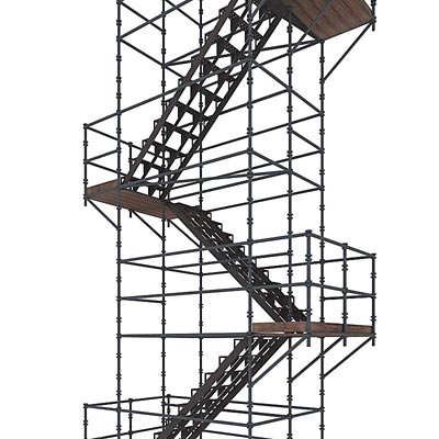 3D model of a Staircase