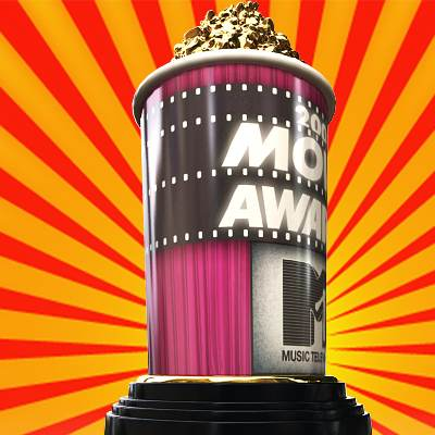 The 3D model of the MTV Movie Awards trophy