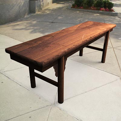 3D model of a Simple Chinese bench