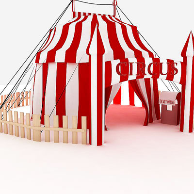 3D model of Circus tent  sc 1 st  3D Rivers & 3D model: Circus tent. $49.95 [buy download]