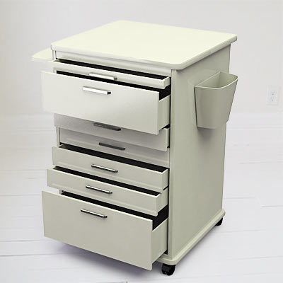 3D model of a Dental mobile cabinet