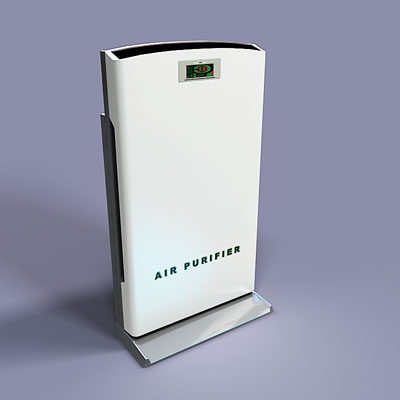 3D model of an Air purifier