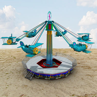 3D model of a Aerospace Wave Swinger