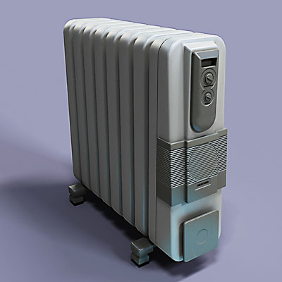 3D model of a Heater<br />