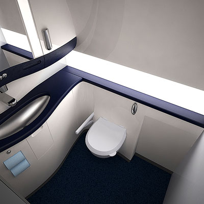3D model of a Lavatory lux<br />