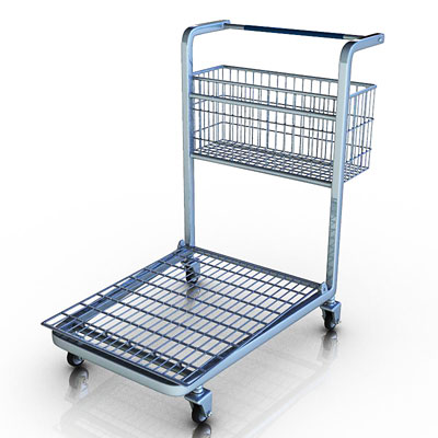 3D model of a Light cart