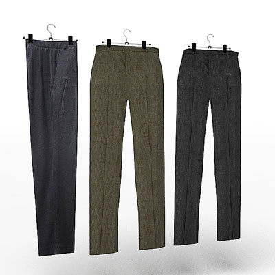 3D model of Trousers set
