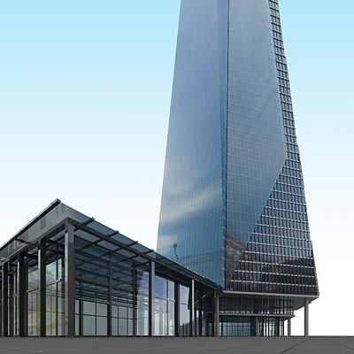 3D model of Shard London Bridge