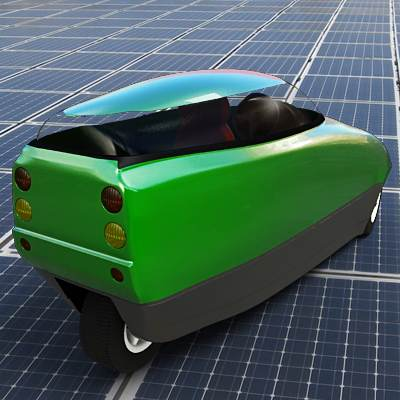 model: 3D Battery-powered commuter car looks like Trev