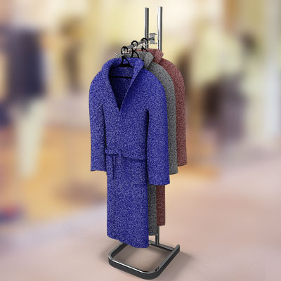 3D model of Clothes On The Rack collection