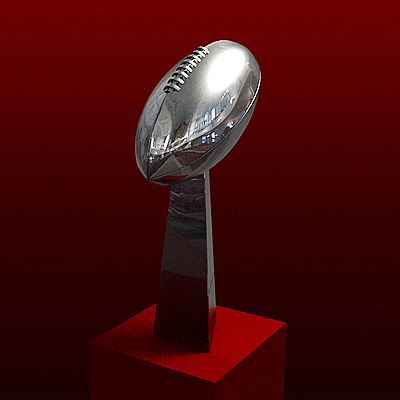 3D model of the Vince Lombardi Trophy