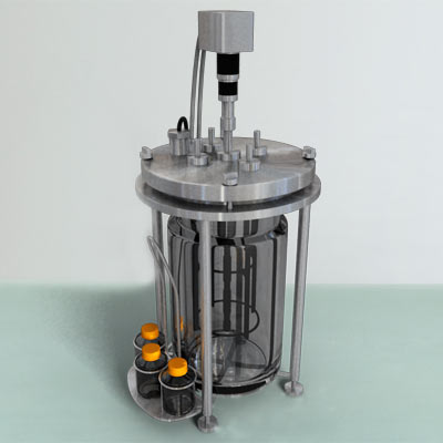 3D model of a Laboratory Bioreactor