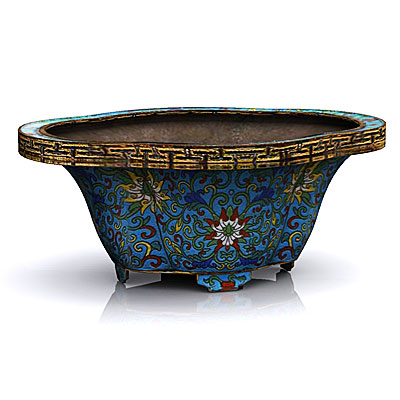 3D model of a Chinese bowl