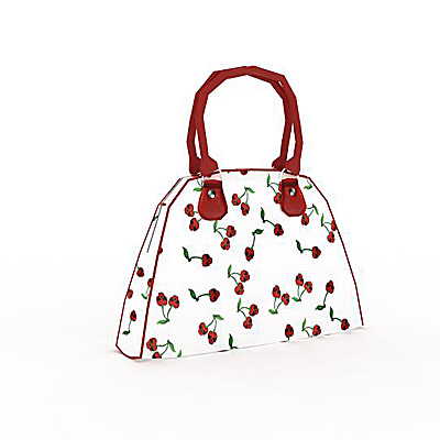 3D model of a Berry purse