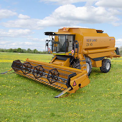 3D model of the Combine harvester New Holland TX68 Plus