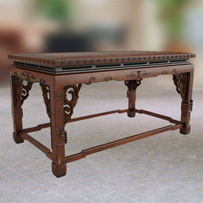 3D model of Chinese low table