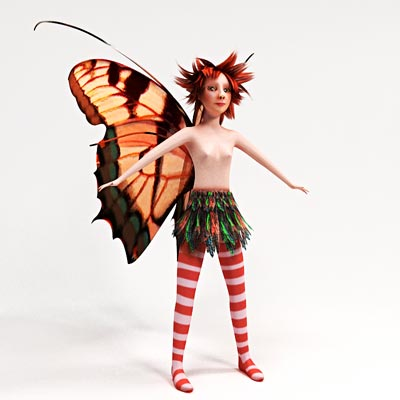 3D model of Pixie
