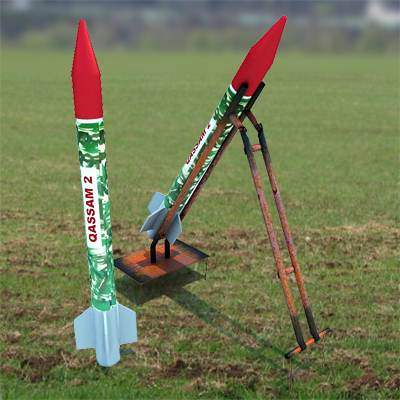 model: Qassam 3D very fast missiles