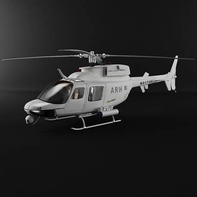 ARH 70A Arapaho helicopter 3D model