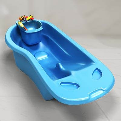 3D model of a baby bath